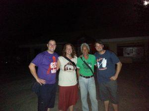 Sean, Laura, Nonoy & Eric (L2R)